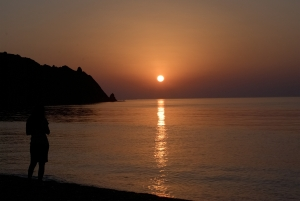 Sunrise over Cirali beach
